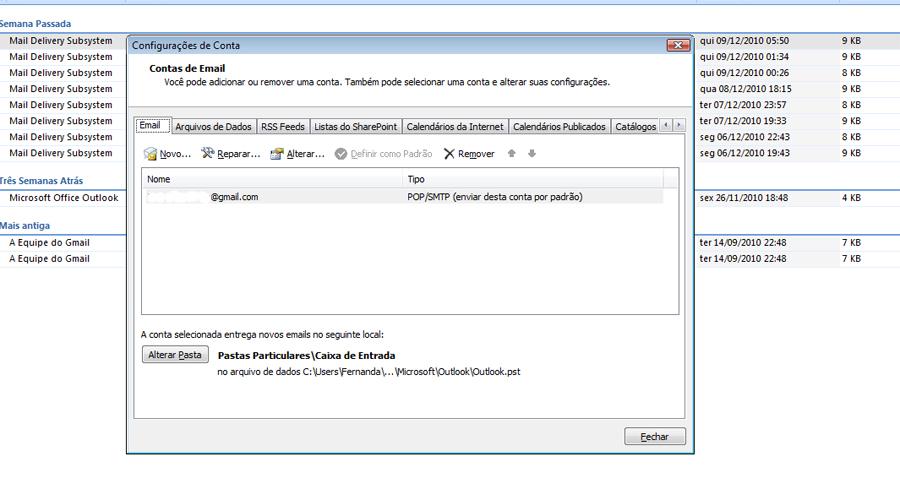 Aprenda a colocar senhas em seus e-mails do Outlook - Fotos - Tecnologia 95ba6ea64ae