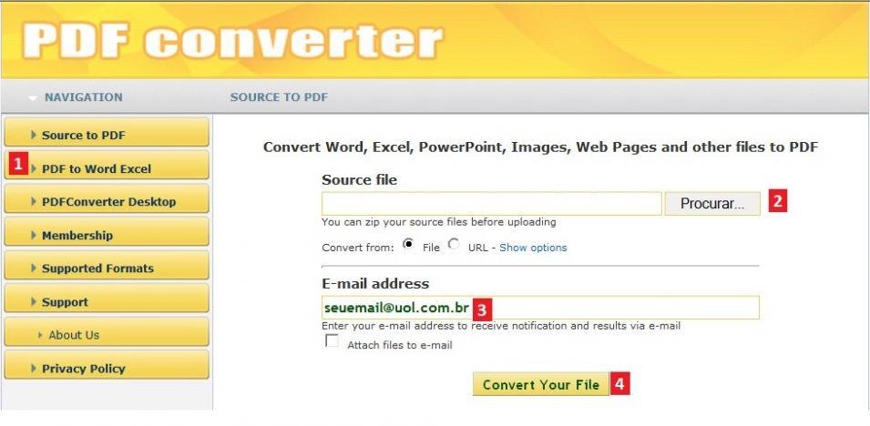 Converter Pdf Para Word Free Online