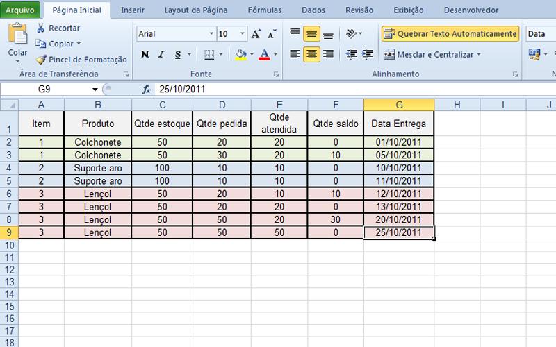 Com tabela dinâmica, usuário do Excel organiza dados da forma como ...