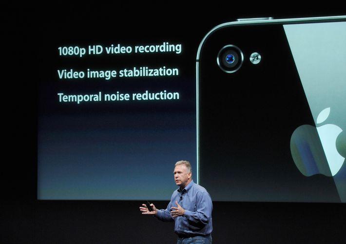iphone4s f 001 Apple lança iPhone 4 duas vezes mais rápido que versão anterior