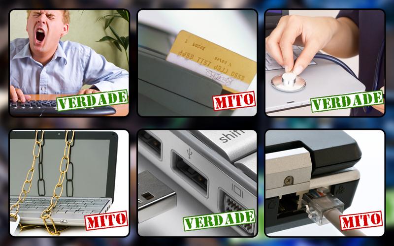 Mitos e verdades sobre a segurança do seu PC - Fonte/Reprodução http://tecnologia.uol.com.br/
