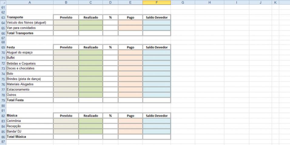 Planilha No Excel Ajuda A Planejar E Calcular Suas