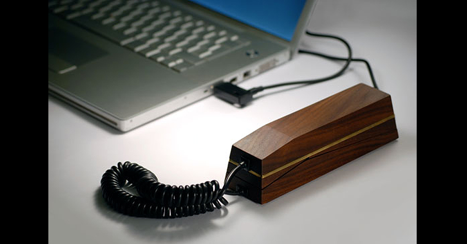 VoIP em madeira