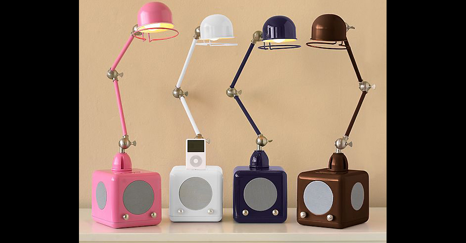 Luminárias para iPod