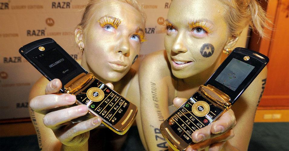 Motorola com ouro