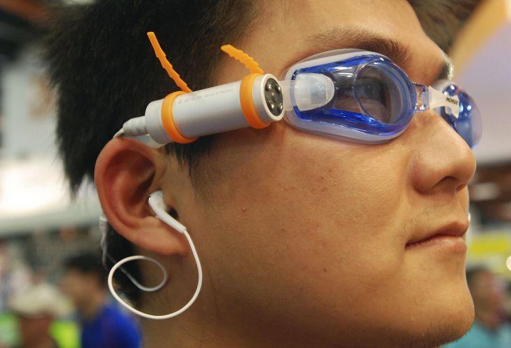 MP3 player à prova d'água