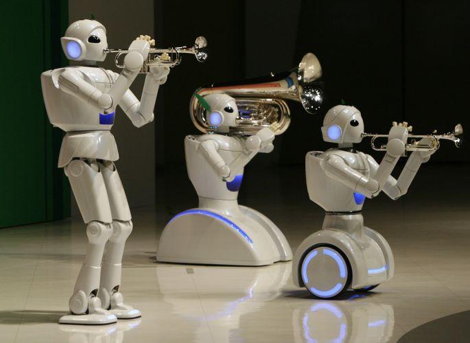 Robôs músicos