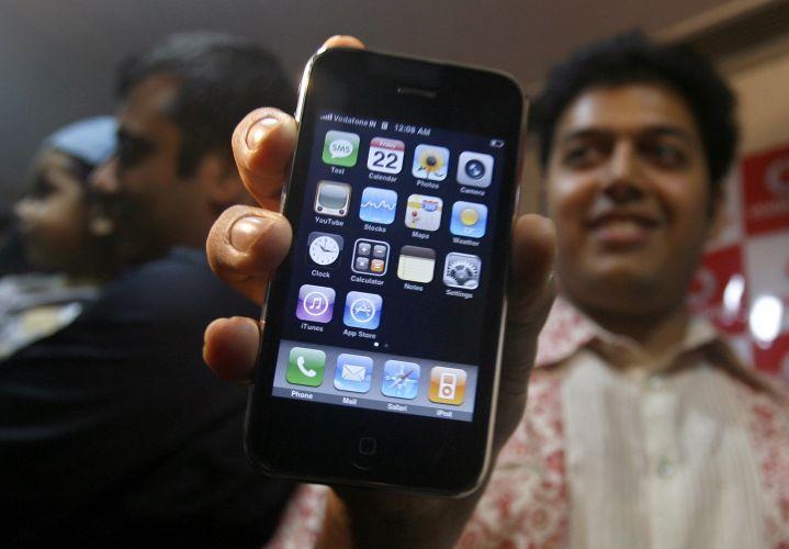 iPhone caro na Índia