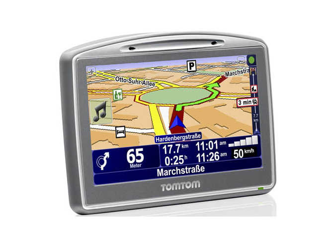 GPS com gravador