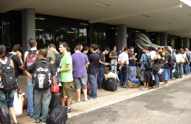 Participantes na espera