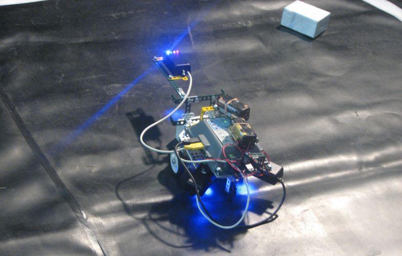 Competição de robôs