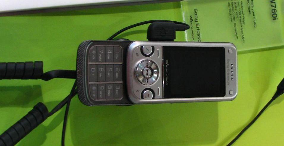 Sony Ericsson Walkman W760i