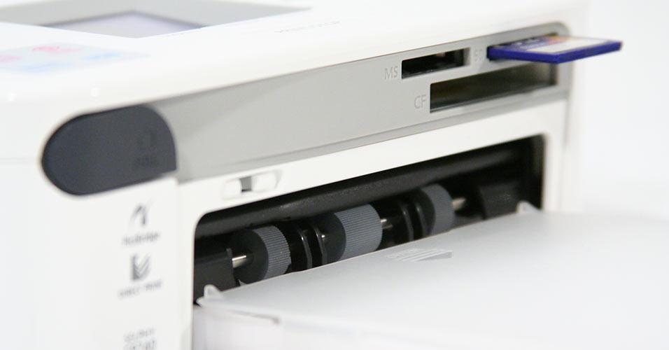 Compartimento de papel removível