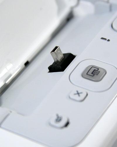 Mini-USB frágil