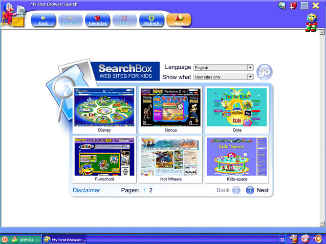 My First Browser