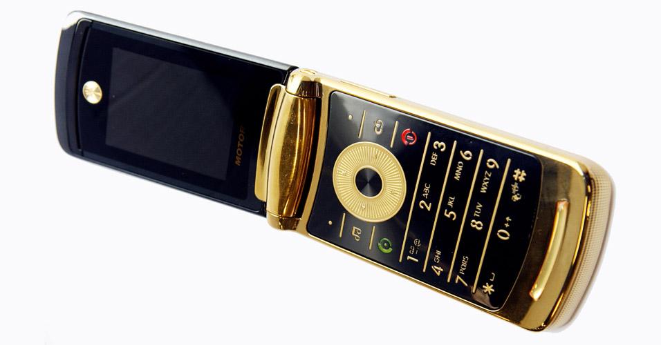 Teclado característico da Motorola