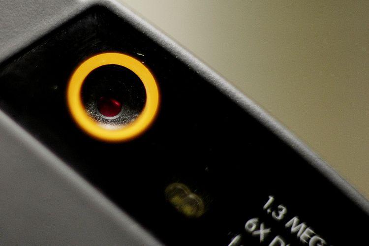 Câmera fraca