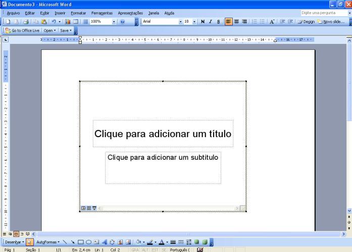 Inserir um arquivo dentro do texto 4