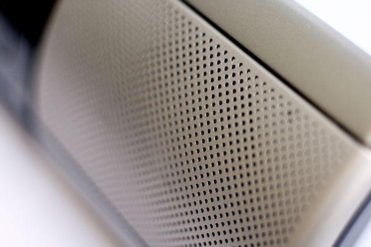 Áudio sem distorções