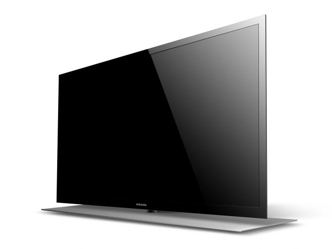 A TV mais fina