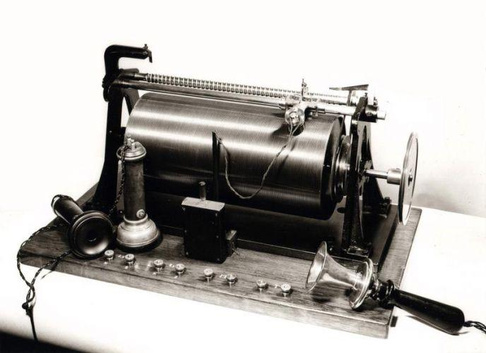 Telegrafone, 1898