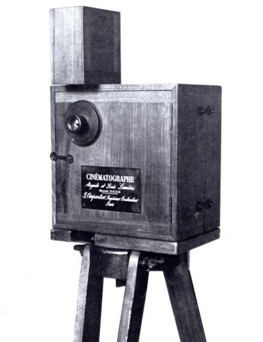 Cinematógrado, 1895