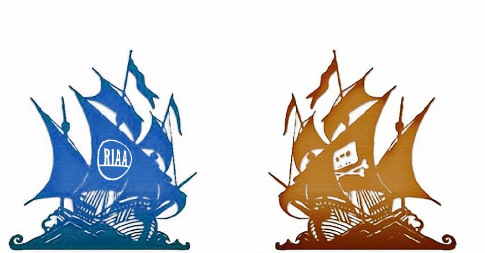 RIAA x The Pirate Bay