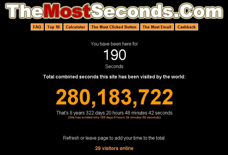 Quantos segundos?