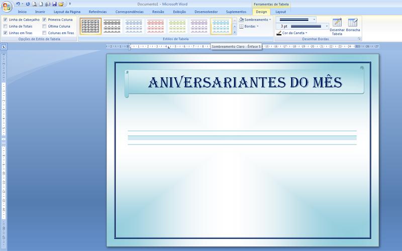 Funcionário Do Mês Aniversariantes Aprenda A Fazer