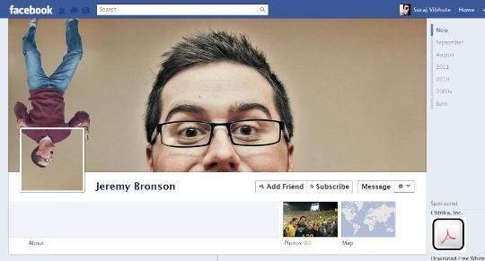 Usu rios do facebook esbanjam criatividade nas capas para for Design ideas facebook